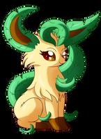 SN: Cute little leaf fox by MoonRayCZ