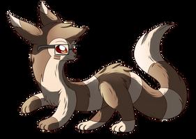 SN: Cautious ferret by MoonRayCZ