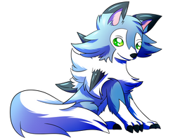 SN: Cute little wolf by MoonRayCZ