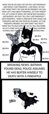 Bat meets the Batman