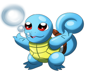 Squirtle by MoonRayCZ