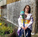 Yuna Braska, Summoner from the Temple