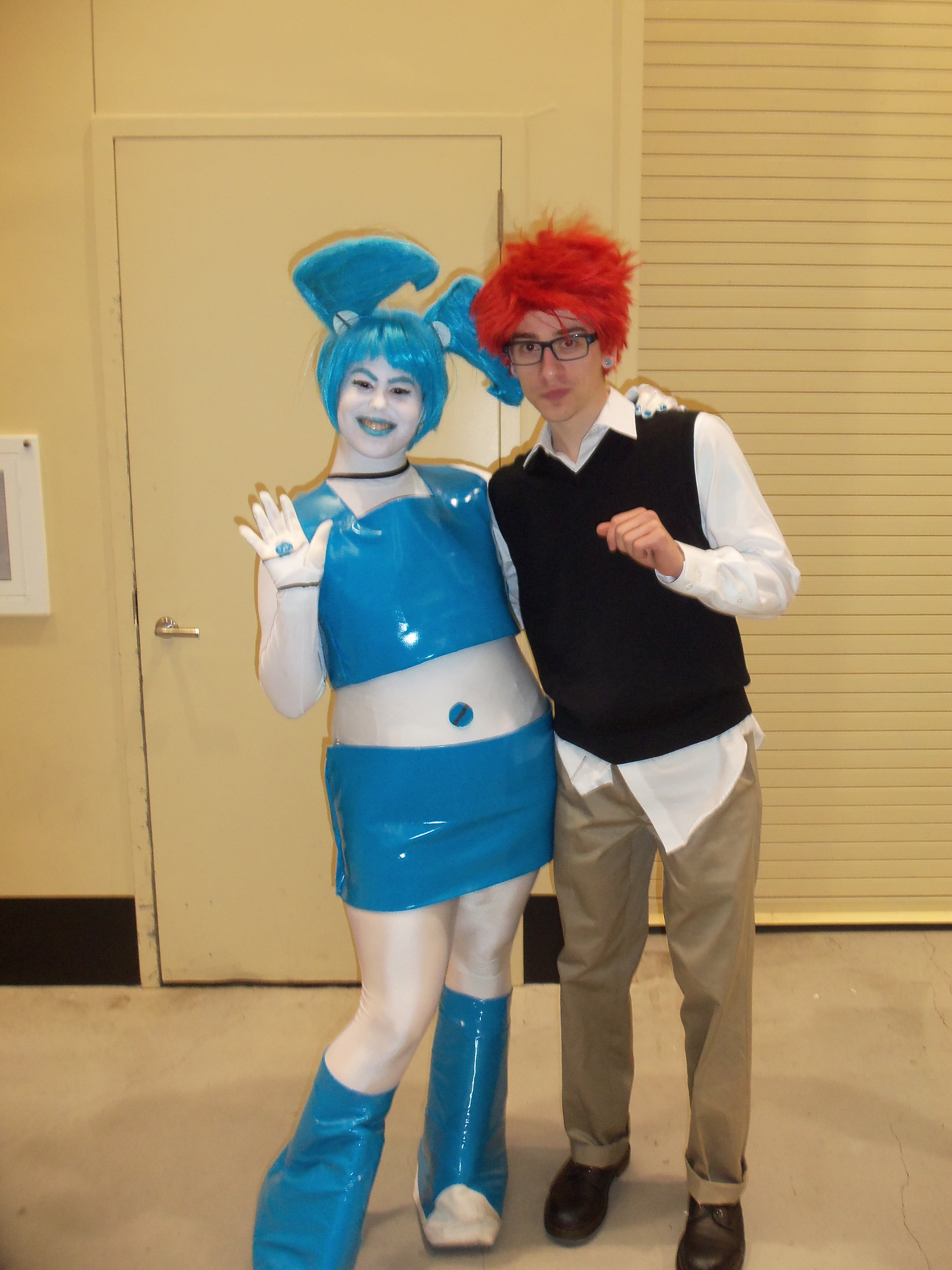 My life as a teenage robot cosplay