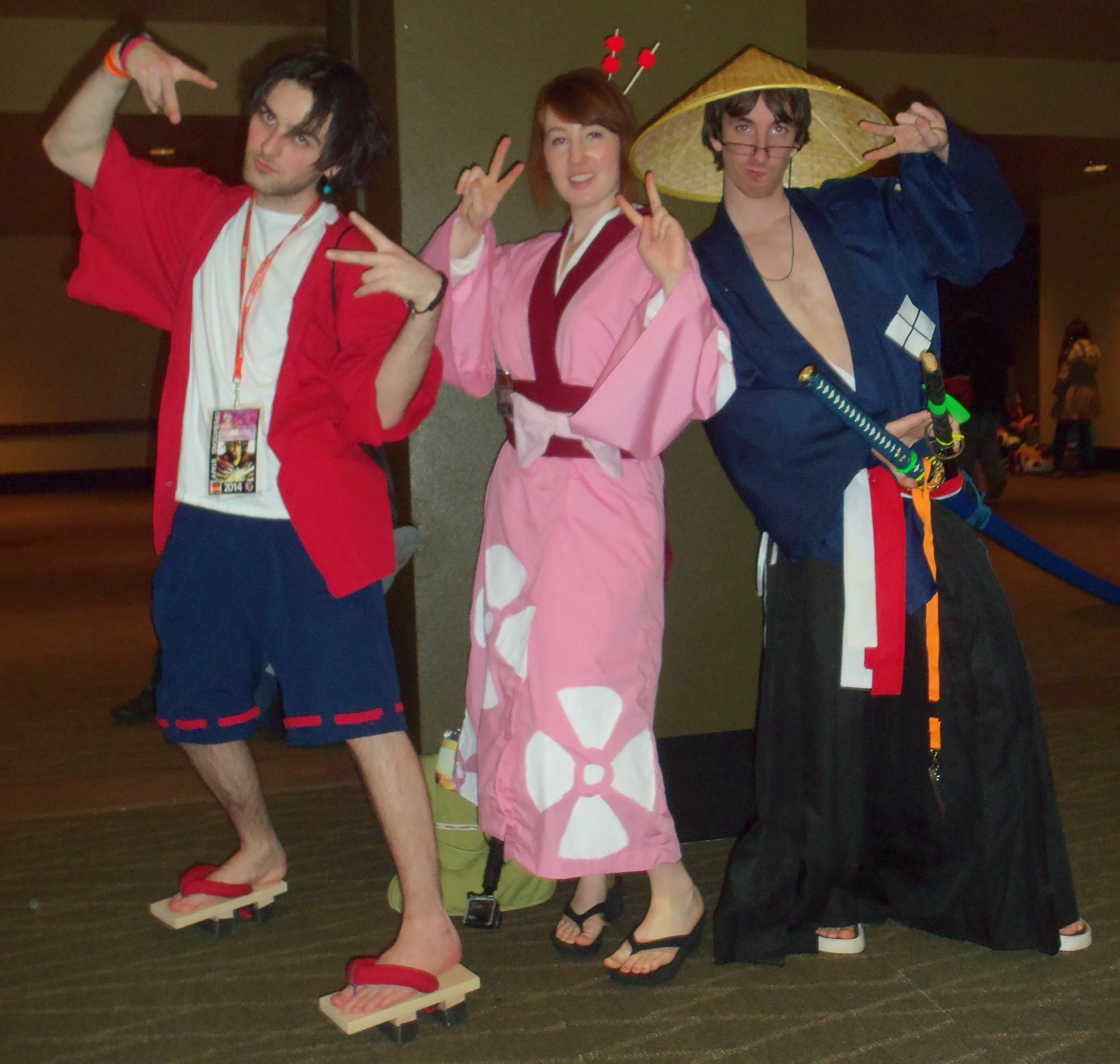 how to make mugen cosplay