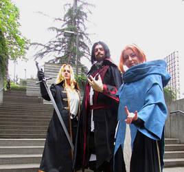 Castlevania - Alucard, Dracula and Sypha