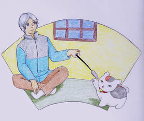 Natsume and Nyanko sensei
