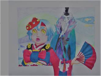 Lord Arakawa and Kingyo
