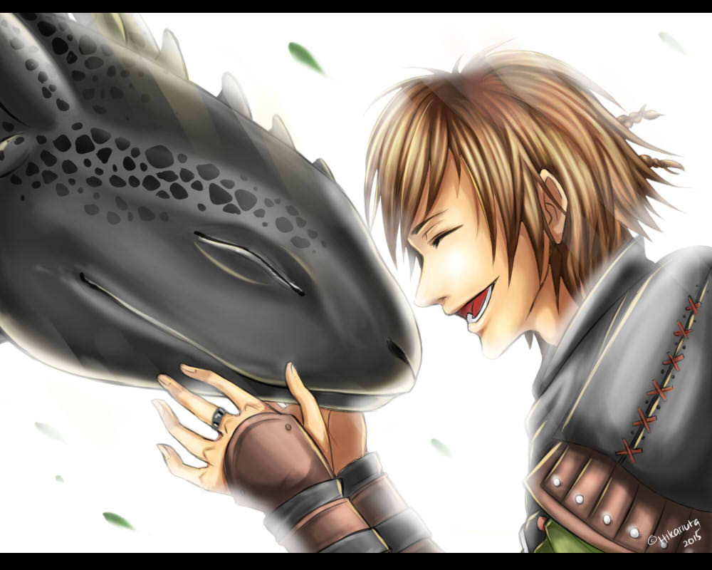 how to train a dragon 2 hiccup and dagger