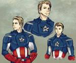 Captain America Doodles