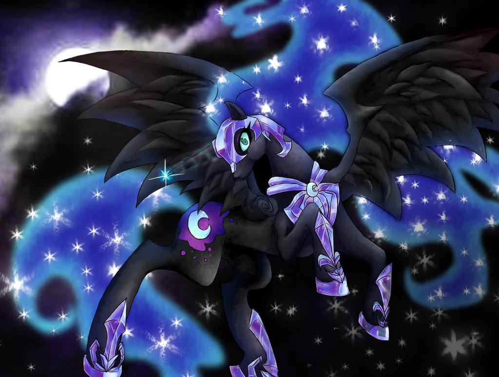 Nightmare Moon by TheLovelessNeko