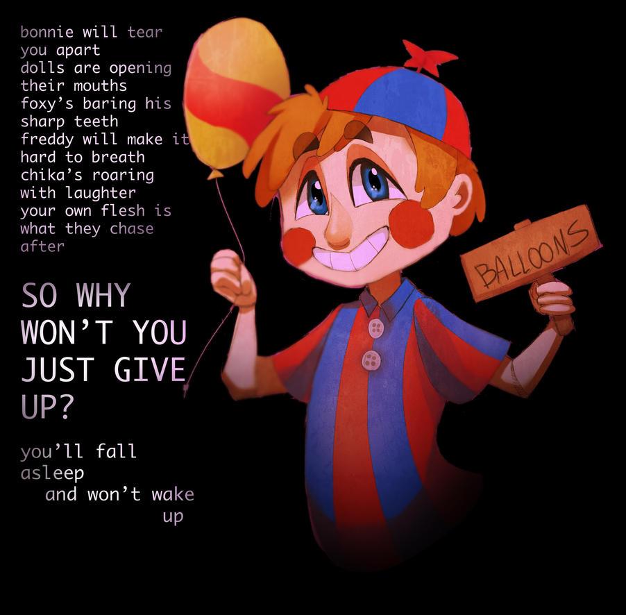 Balloon Boy By Lady-Was-Taken On DeviantArt