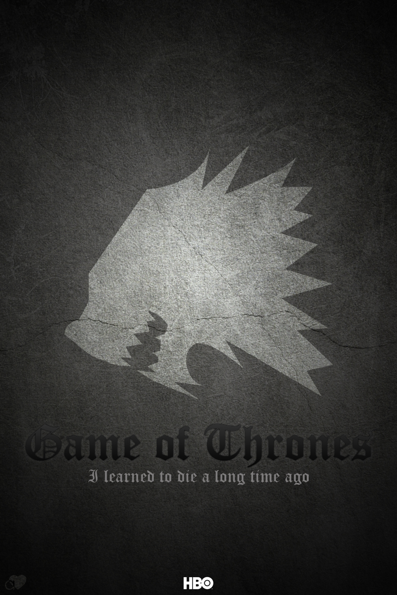 Game of Thrones - Stark by hussainadil