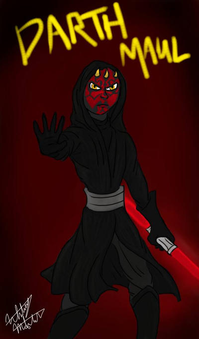 Darth Maul by NewGenerationArt7