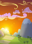 MLP Sunset Background