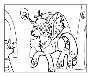 Changelings WIP - Rise Up by Scyphi