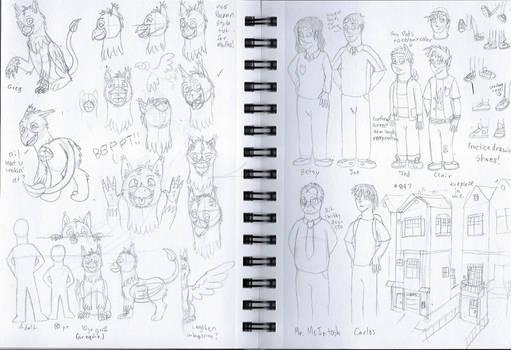 'Foster Griffon' Concept Sketches