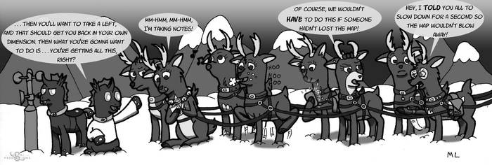 Lady Reindeer -- Ask For Directions