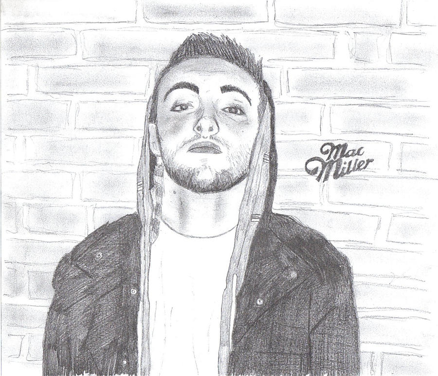 how to draw mac miller