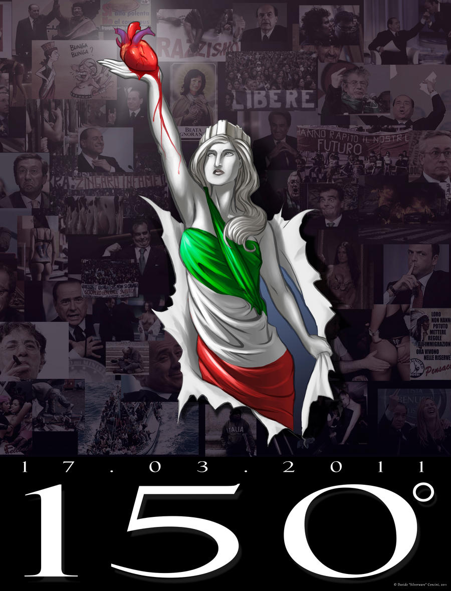 150 anni d'Italia by the-silverware