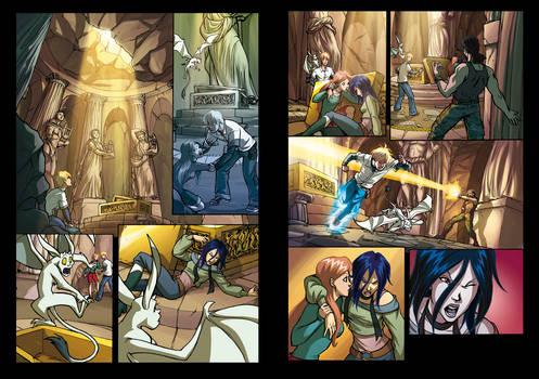 Huntik 14 pages 8-9