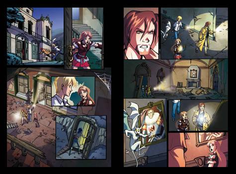 Huntik 17 pages 2-4