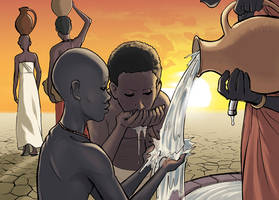 Water in Africa by the-silverware