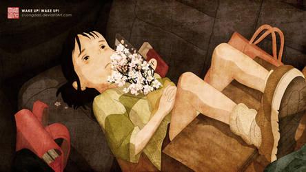 Chihiro! Wake up! Wake up!