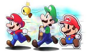 Mario, Luigi and Paper Mario