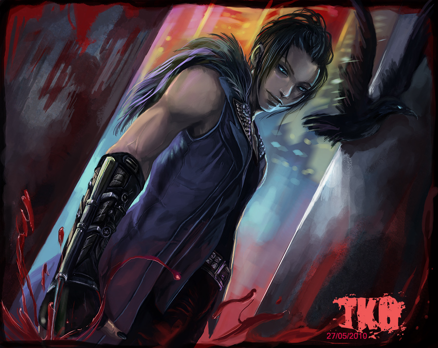 the crow by krad999