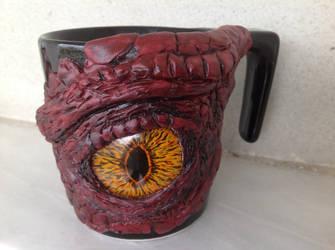 Dragon Eye Mug by emoshus
