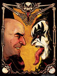 Scott Ian Meets Gene Simmons