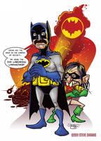 Hispanic Batman by SteveChanks