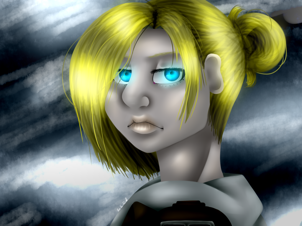 ((Speedpaint))Annie screenshot remake by Knife-Girl on ...