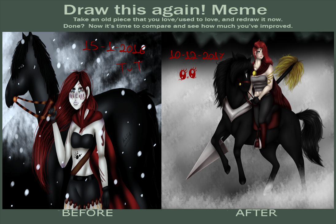~Before and After~ by Knife-Girl