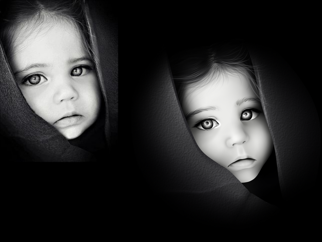 ~Realistic portrait~ by Knife-Girl