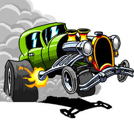30's Style Hotrod by ARMORMAN