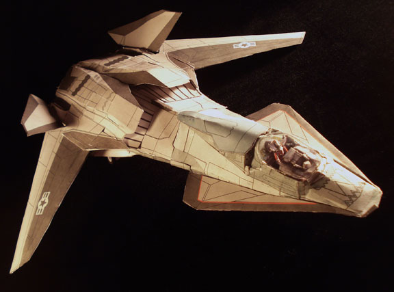 talon papercraft flyby by ARMORMAN