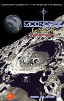 Moonbase Eden book+poster art by ARMORMAN