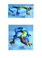 Tangle Toy Lizard Prototype by ARMORMAN