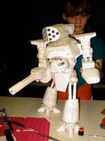Reaver Titan Front by ARMORMAN