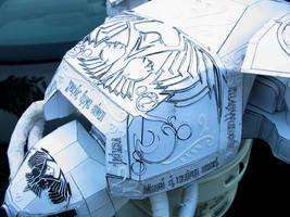 Reaver titan carapace detail by ARMORMAN