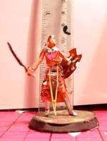 Warrior Elf Maiden by ARMORMAN