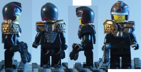 LEGO Custom Judge Dredd Movie Fig