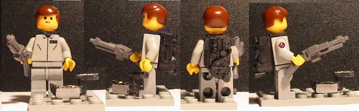 LEGO Ghostbusters Peter Venkman Minifig