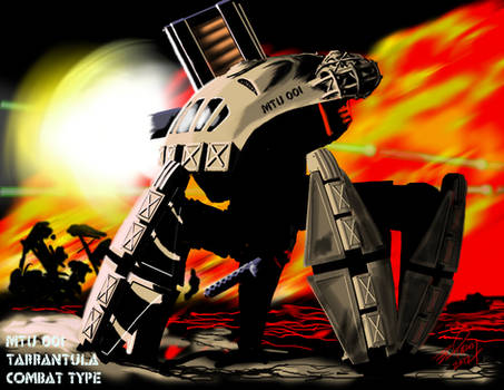 MTU 001 Tarantula Concept