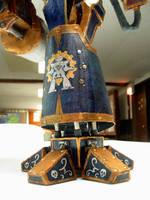 Lft calf detail by ARMORMAN