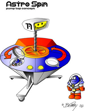 Astro spin Toy concept