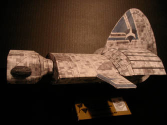 Frigate Side view by ARMORMAN