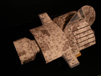 Frigate Top View by ARMORMAN