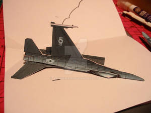 Jet folded